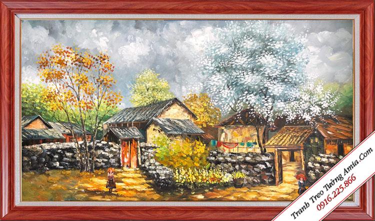 Giá tranh sơn dầu vẽ tay hiện nay
